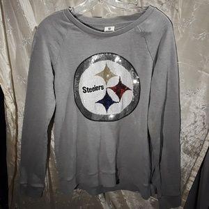 PINK by Victoria secret NFL Steelers sweatshirt